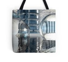 Heavenly Architectures // Anywhere But Here Tote Bag