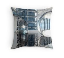 Heavenly Architectures // Anywhere But Here Throw Pillow