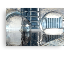 Heavenly Architectures // Anywhere But Here Canvas Print