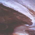 Salt & Soil  - edge of Lake Eyre by KazM