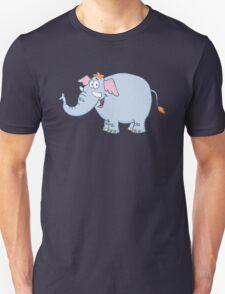 Funny cartoon elephant character Unisex T-Shirt