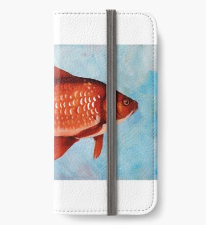 The Fisherman surreal whimsical painting iPhone Wallet/Case/Skin
