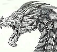 Alduin by evolveandescape
