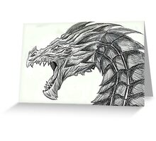Alduin Greeting Card