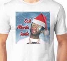 Gucci Mane East Atlanta Santa With Snow Background- Christmas Unisex T-Shirt