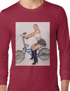 Kylie Jenner Bike Long Sleeve T-Shirt