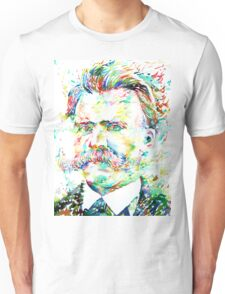 NIETZSCHE watercolor portrait Unisex T-Shirt