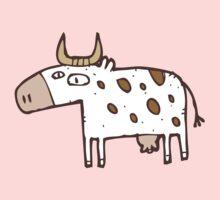 Cute cartoon cow Kids Tee