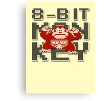 Donkey Kong - 8-Bit Monkey Canvas Print