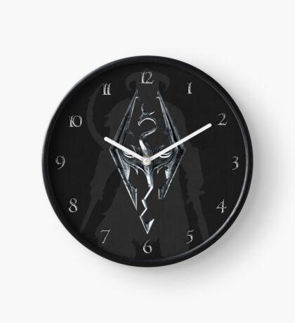 Skyrim Leather Clock