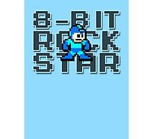 Megaman - 8-Bit Rockstar Photographic Print