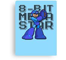 Megaman - 8-Bit Megastar (Alternate) Canvas Print