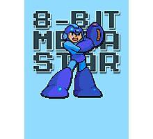 Megaman - 8-Bit Megastar (Alternate) Photographic Print