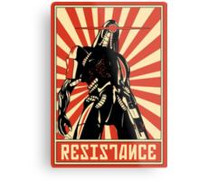 Geth Resistance Legion Metal Print