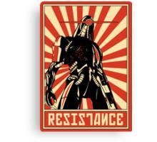 Geth Resistance Legion Canvas Print