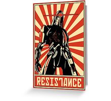 Geth Resistance Legion Greeting Card