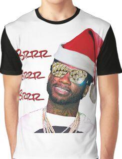 Gucci Mane Brrr Brrr Brrr Santa- Christmas Graphic T-Shirt