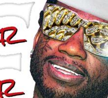Gucci Mane Brrr Brrr Brrr Santa- Christmas Sticker
