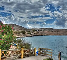 The view from Nik's Taverna by Tom Gomez