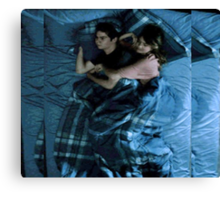 Stalia [Cuddling] Canvas Print