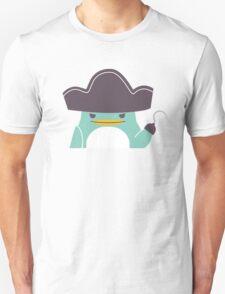 Happy funny cartoon penguin pirate Unisex T-Shirt