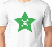 Skull and bones in a star Unisex T-Shirt