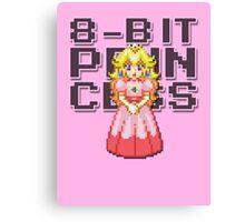 Peach - 8-Bit Princess Canvas Print