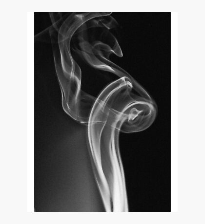 There's No Smoke Without Fire Photographic Print