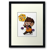 Lucky Blocks! Framed Print