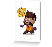 Lucky Blocks! Greeting Card