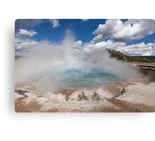 Excelsior Geyser Crater-Yellowstone NP Canvas Print