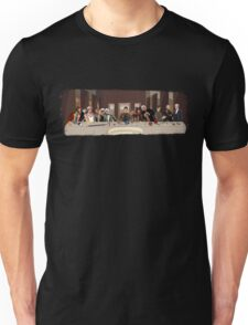 The last supper of the Doctor Unisex T-Shirt