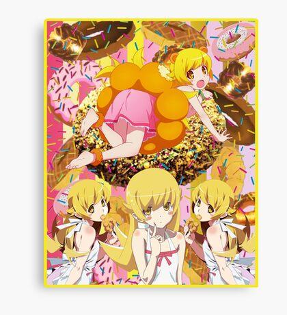 Shinobu Donut Fiasco Canvas Print