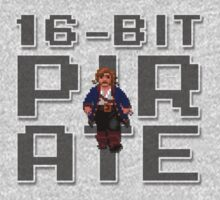 Guybrush - 16-Bit Pirate T-Shirt