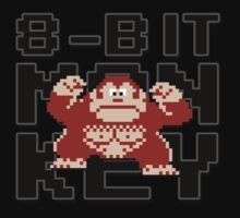 Donkey Kong - 8-Bit Monkey Kids Clothes