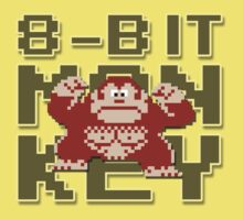 Donkey Kong - 8-Bit Monkey One Piece - Short Sleeve