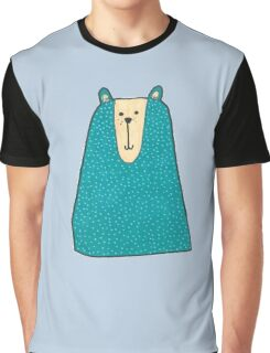Blue Bear Graphic T-Shirt