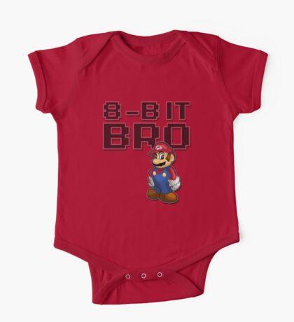 Mario - 8-Bit Bro One Piece - Short Sleeve