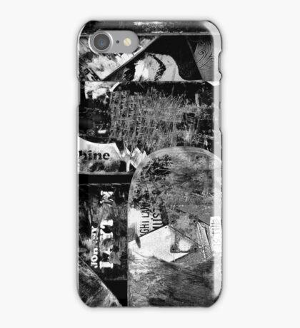 Love to Grind 2 B & W iPhone Case/Skin