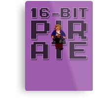 Guybrush - 16-Bit Pirate Metal Print