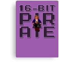 Guybrush - 16-Bit Pirate Canvas Print