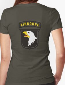 101st Airborne - Cell Phone Case - T-Shirt - Tote Bag - Pillow... Womens Fitted T-Shirt