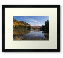 Fall Colours in Canada - Tremblant, Quebec Framed Print