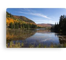 Fall Colours in Canada - Tremblant, Quebec Canvas Print