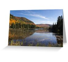Fall Colours in Canada - Tremblant, Quebec Greeting Card