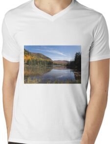 Fall Colours in Canada - Tremblant, Quebec Mens V-Neck T-Shirt