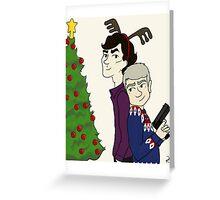 Crime Fighting Christmas Greeting Card