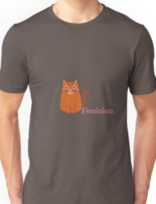 Cats for Feminism Unisex T-Shirt