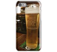 Italian beer in an English Pub iPhone Case/Skin