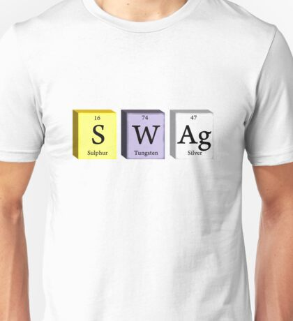 Swag Science Elements  Unisex T-Shirt